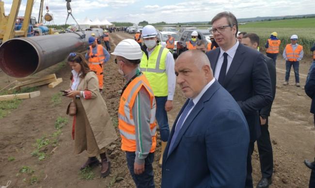 """Русия: """"Балкански поток"""" ще бъде завършен по план, Борисов лично следи"""