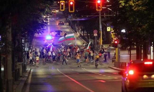 Имало напрежение между шофьори и протестиращи от блокадите