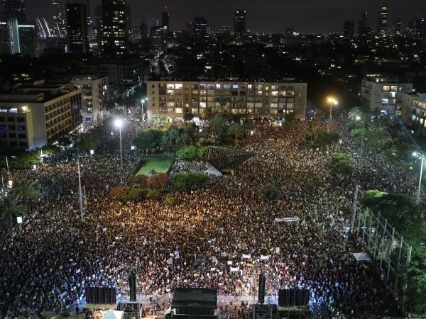 Хиляди израелци взеха участие в няколко протеста срещу премиера Бенямин