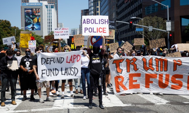 Сблъсъци при протестите срещу полицейско насилие в САЩ