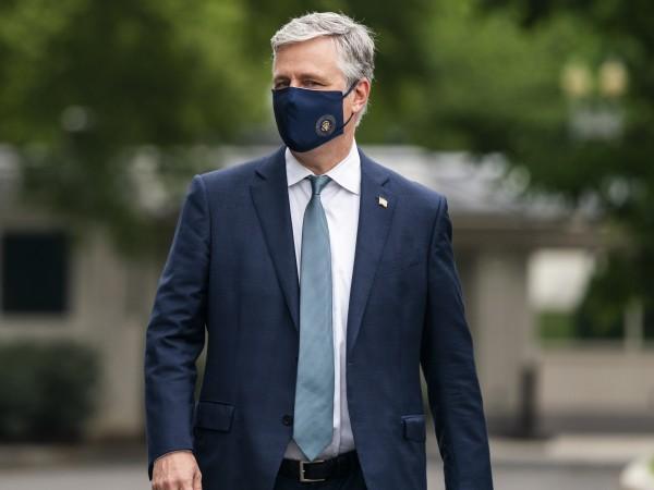Съветникът по националната сигурност към Белия дом Робърт О`Брайън е