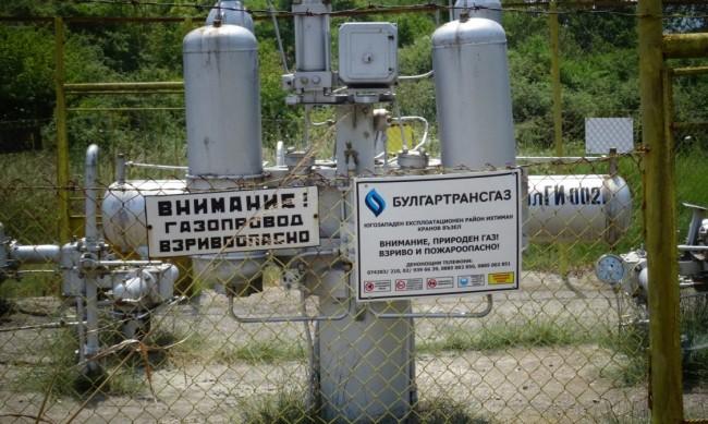 Транзитният газопровод за Гърция ще работи от полунощ