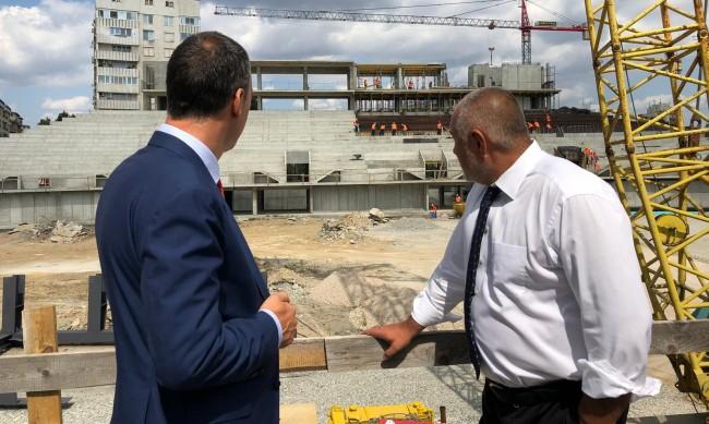 """Правителството отпусна 5 млн. лв. за оборудване на """"Арена Бургас"""""""