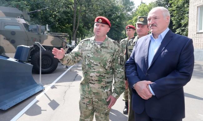 Лукашенко имал коронавирус, вече се възстановил