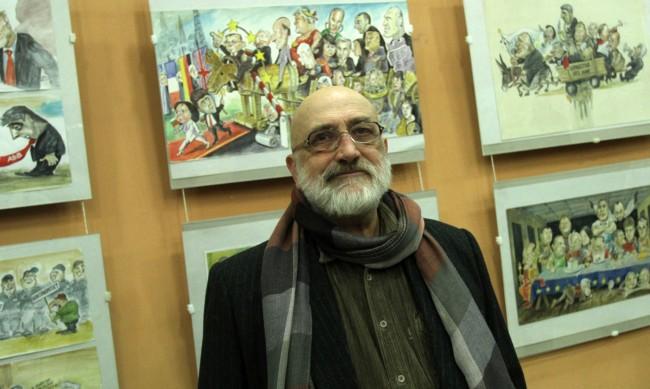 Почина карикатуристът Иван Кутузов-Кути
