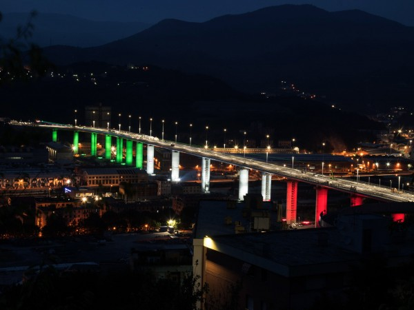 Новият мост на Генуа ще бъде открит днес. Той е