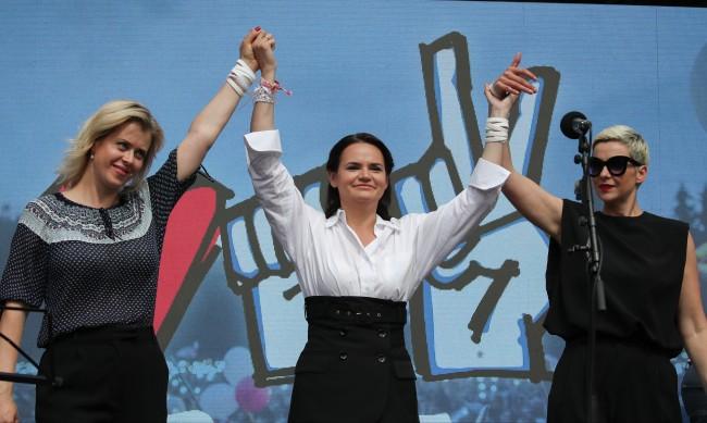 Кои са трите жени, готови да свалят Лукашенко от власт в Беларус?