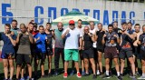 """Kралев проследи подготовката на родни спортисти в НСБ """"Спортпалас"""""""