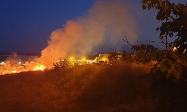 Пожарите тази година с 15% повече в сравение с миналата