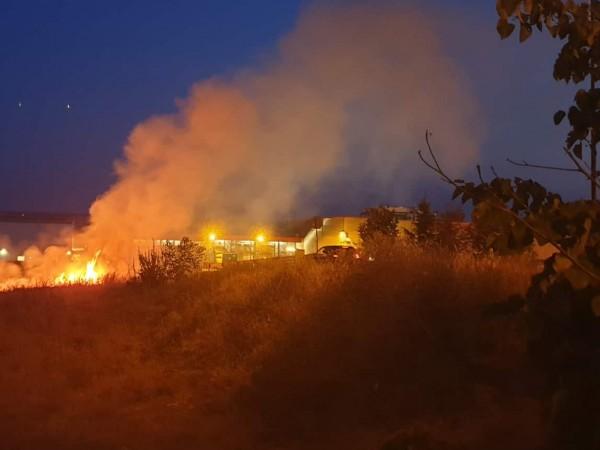 Около 15% повече пожари в реколтата, най-вече в житни и