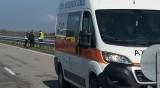 Шофьор се заби с кола в ТИР и загина в Карнобатско