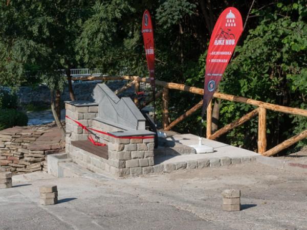 Новоизградена веломивка и чешма, намираща се до Боянската река, бе