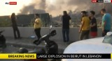 Най-малко 10 загинали при взрива в Бейрут, ранените са няколкостотин
