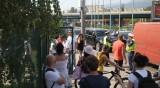 Протестът в действие: Блокираха кръговото на 4-ти километър