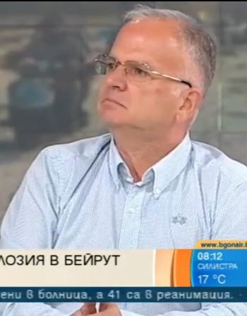 Боян Чуков: Нужно е време да се изясни какво се е случило в Бейрут