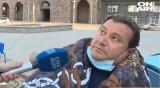 Мъжът, обявил гладна стачка, е откаран в болница