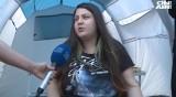 Лицата на протестите: Момичето, което шие българското знаме
