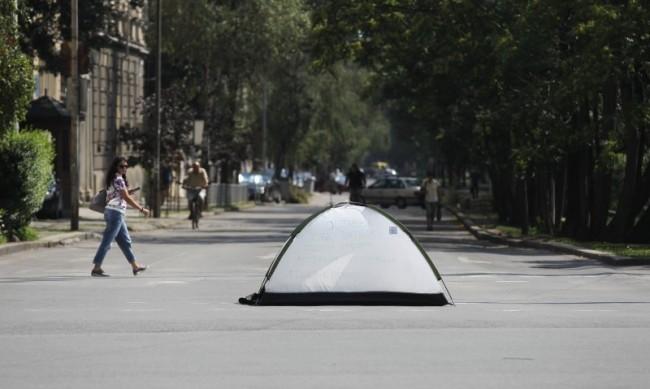Граждани внесоха жалба заради блокираните кръстовища в София