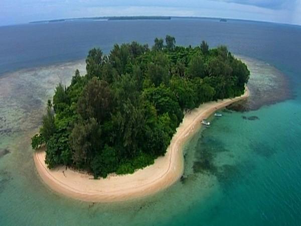 Има един райски остров в света, изпълнен с живот и