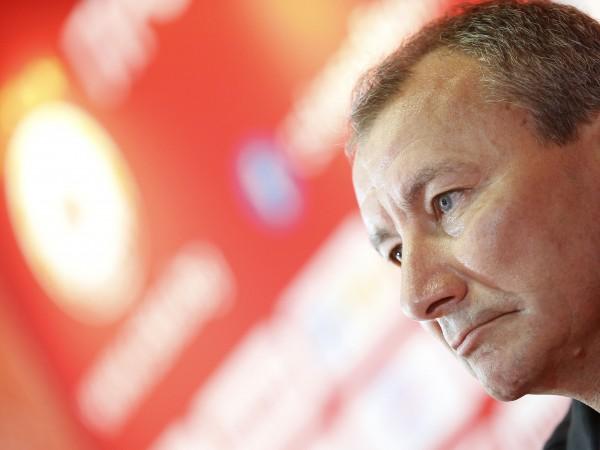 Треньорът на ЦСКА-София Стамен Белчев даде интервю за клубната телевизия