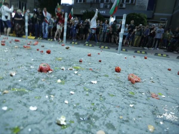 В 29-я ден от протестите недоволните от правителството се отправиха