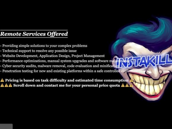 Хакерът Instakilla, приемал поръчки, за да удря сайтовете на различни,