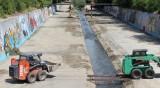 Изчистиха 35 км речни корита в София