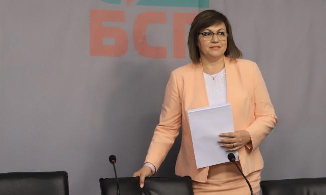 """Нинова: Борисов се скри и остави Валери Симеонов да """"управлява"""""""