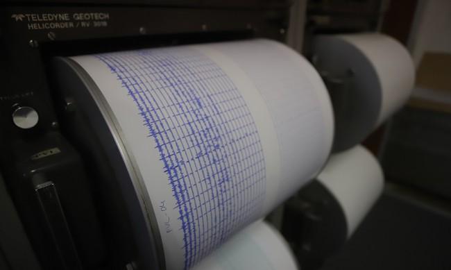 Леко земетресение е регистрирано край София