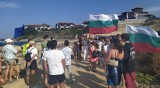 Протестно плажуване се проведе и на Алепу