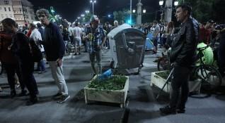 МВР публикува кадри от вчерашната блокада