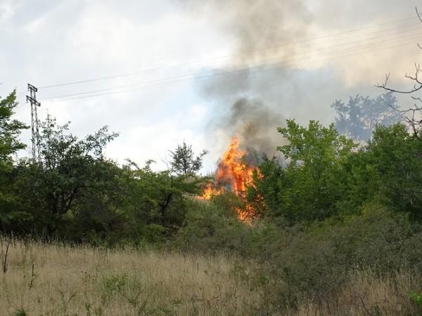 Обстановката в област Хасково остава изключително усложнена, поради възникнали нови