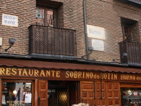 Ресторант Botín в Мадрид, Испания за първи път отваря врати