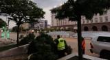 След бурята в София: Съборени дървета, затънали коли