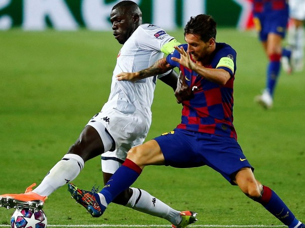 Барселона се класира за 1/4-финалите на Шампионска лига, след като