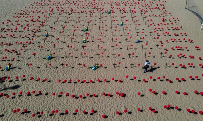 Тридневен траур в Бразилия в памет на жертвите на COVID-19