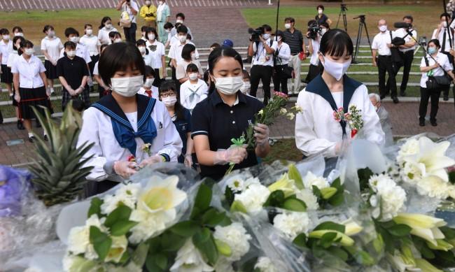 В Нагасаки отбелязаха 75-та годишнина от атомната бомбардировка