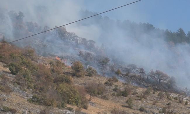 Критична ситуация в 5 общини, пожарите край Свиленград и Лесово се обединиха