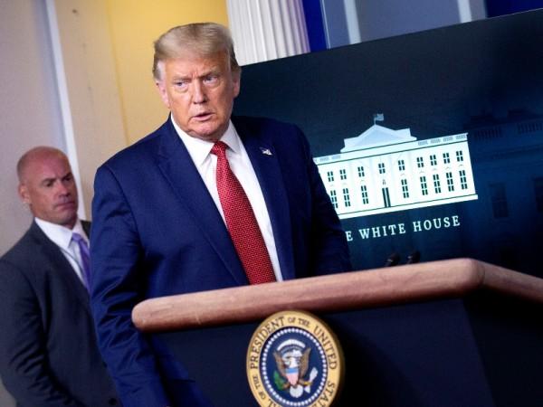 Президентът на САЩ Доналд Тръмп бе внезапно изведен от Сикрет