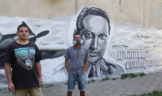 "Фасада на блок в ""Банишора"" увековечи Списаревски"