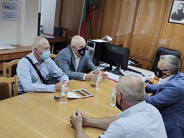 Главният прокурор Иван Гешев обсъди приоритетите на прокуратурата до края