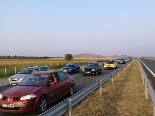 "Група протестиращи днес в 10:00 ч. потеглиха по автомагистрала ""Тракия"""