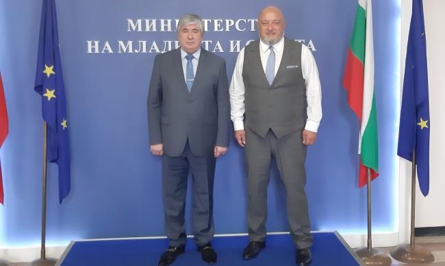 България и Русия ще задълбочават сътрудничеството в спорта