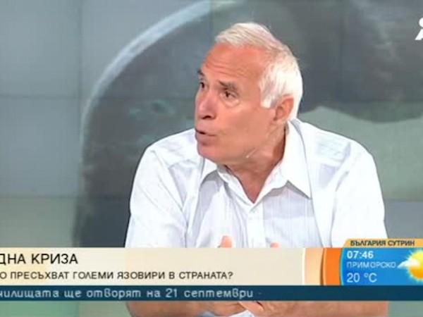 Ресорният министър Емил Димитров констатира, че е отчетено драстично ниско