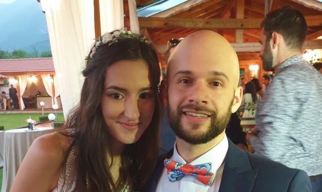 """Сватба при пандемия: Когато COVID-19 казва """"не"""", те си казаха """"да!"""""""