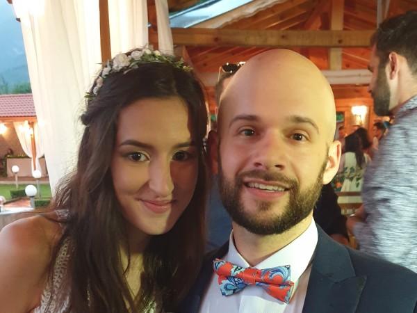 Българка и американец се венчаха във Враца, а гостите от