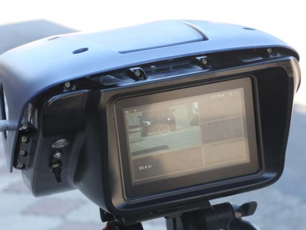 Камера засне кола, летяща с внушителните 149 км/час, по пловдовски