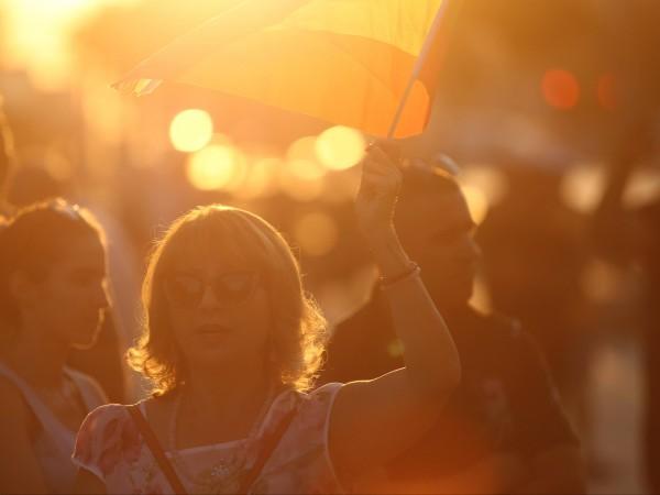 Пореден 36-и антиправителствен протест. Недоволните граждани се събраха в триъгълника