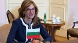 Захариева: Не бягаме от избори и служебен кабинет!