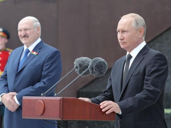 Президентите на Русия и Беларус, Владимир Путин и Александър Лукашенко